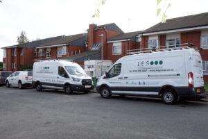IES Group vans